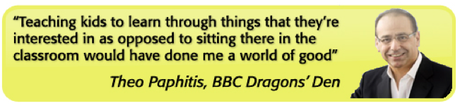BBC Dragons Den Theo Paphitis
