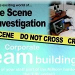 Team Building with a CSI Twist