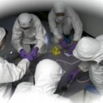6th form CSI Forensic Science Students