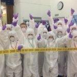 KS2 Crime Scene Investigators