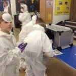 KS2 Pupils Ultra Violet Detection