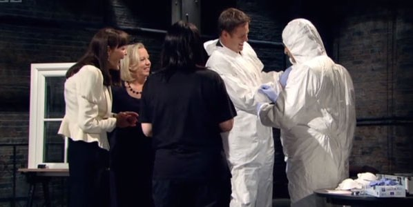 BBC Dragons' Den do CSI !