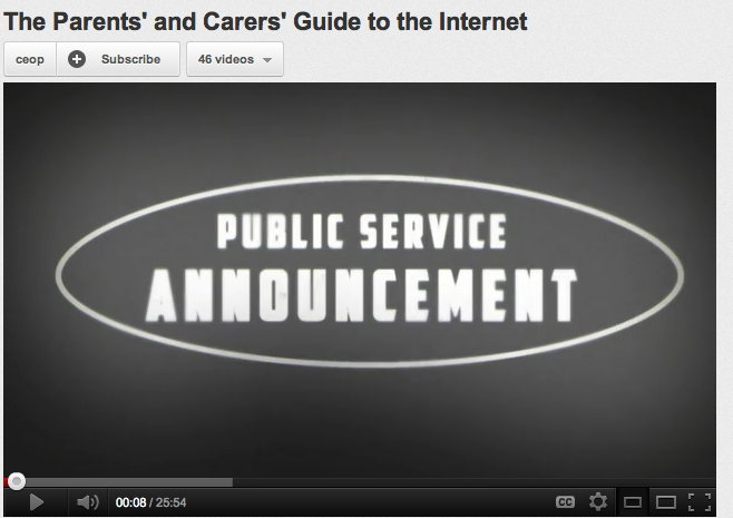 """The Parents' and Carers' Guide to the Internet"""