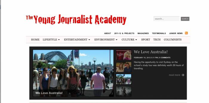 YJA (Young Journalist Academy)