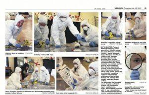 CSI comes to Lichfield Primary School