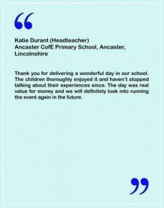 Primary School Testimonial