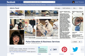 Finger on the Pulse Facebook Business Page
