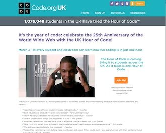 UK Hour of Code!
