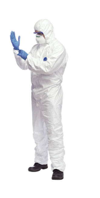 Forensic White Crime Scene Examiner Suit (SOCO)