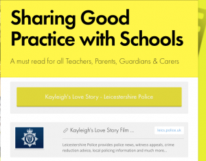Sharing Good Practice with Schools
