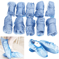 Blue Overshoes