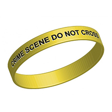 Crime Scene Wristband