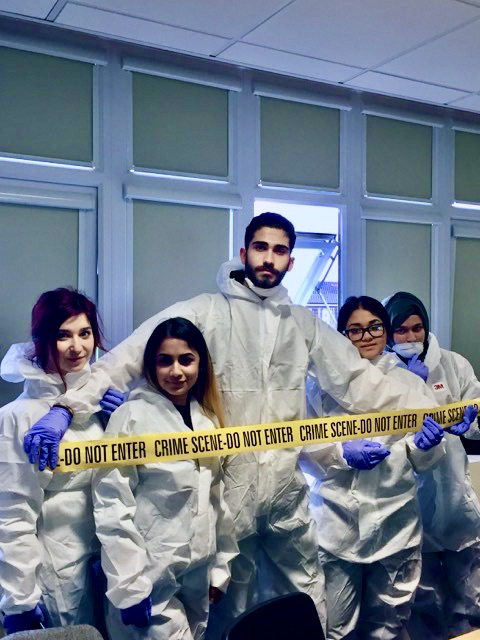 BTEC Forensic Science and Public Services Workshop