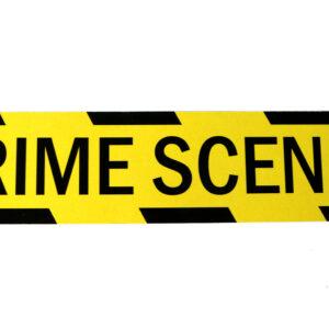Crime Scene Book Mark