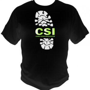 CSI Footprint T.shirt